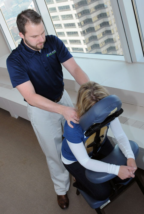 On-Site Chair Massage Services