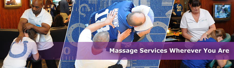 Massage Services Wherever You Are